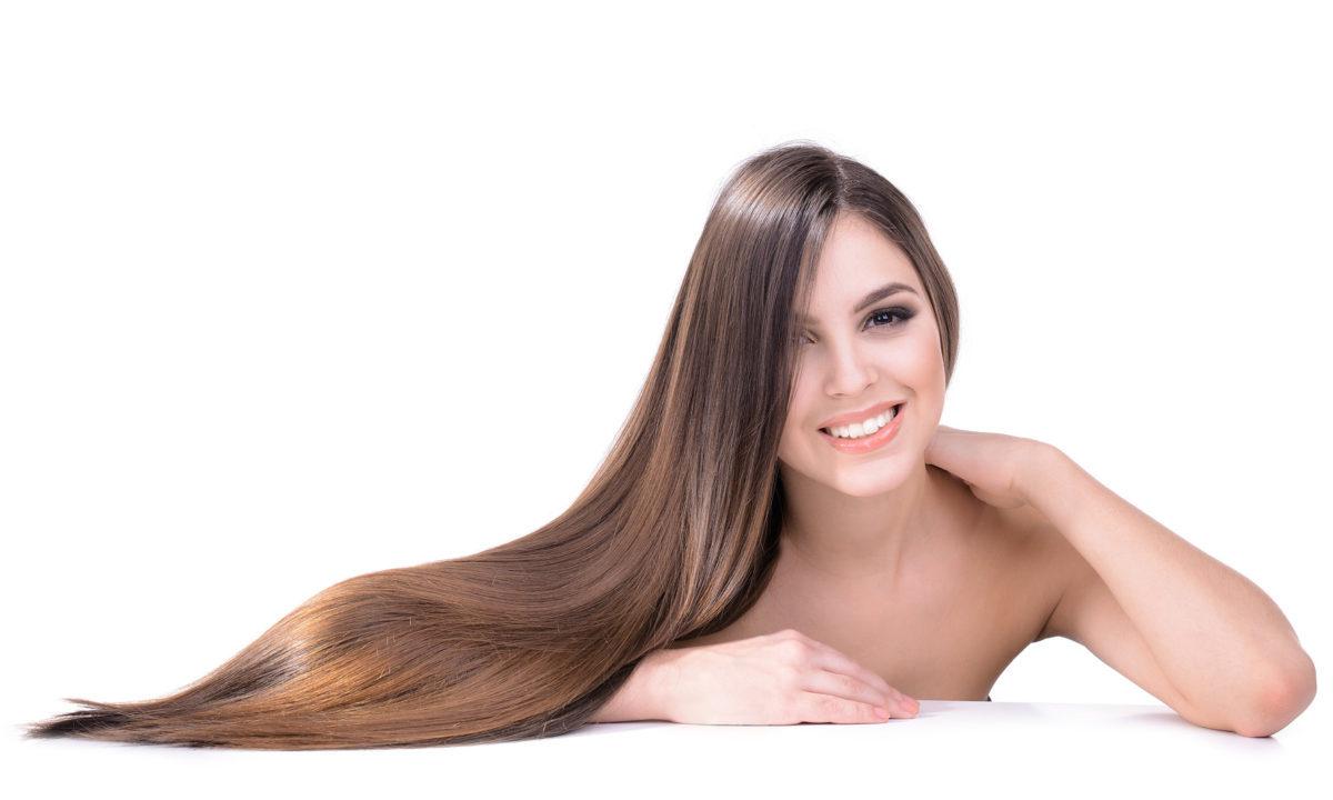 Długie, błyszczące włosy