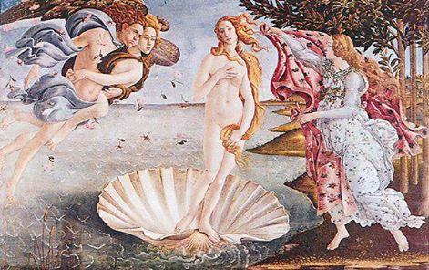 "Obraz ""Wenus z Milo"" Sandra Botticellego"