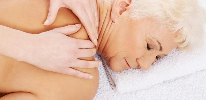 masaż dla seniora