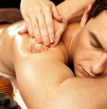 masaż regenerujący z aromateriapią