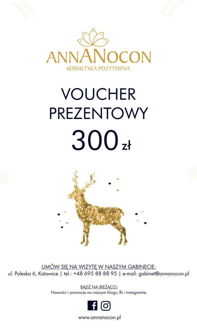 Świąteczny voucher prezentowy 300 zł