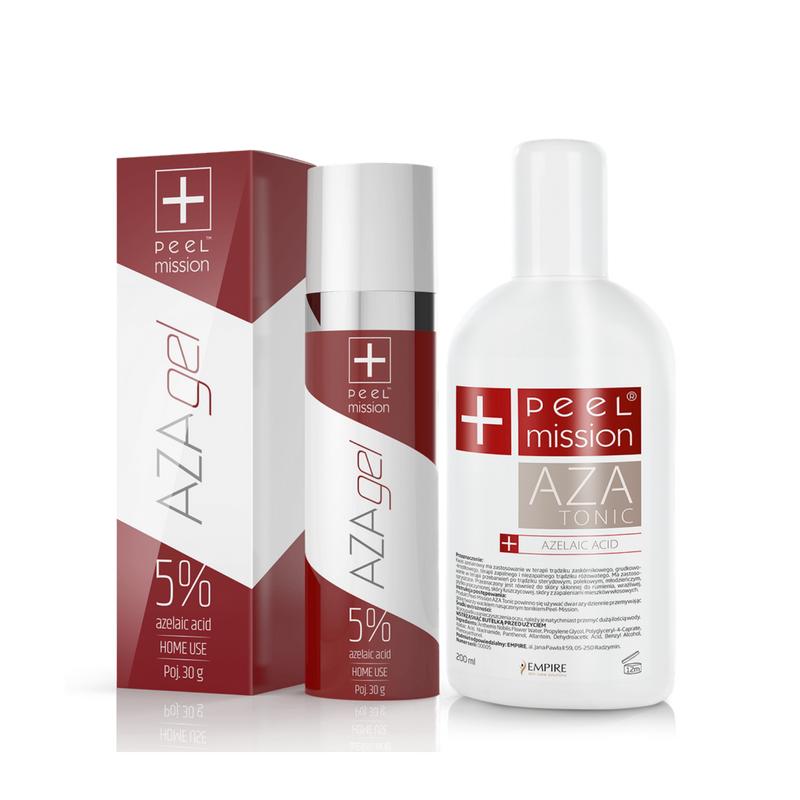 Zestaw Tonic AZA + AZA gel