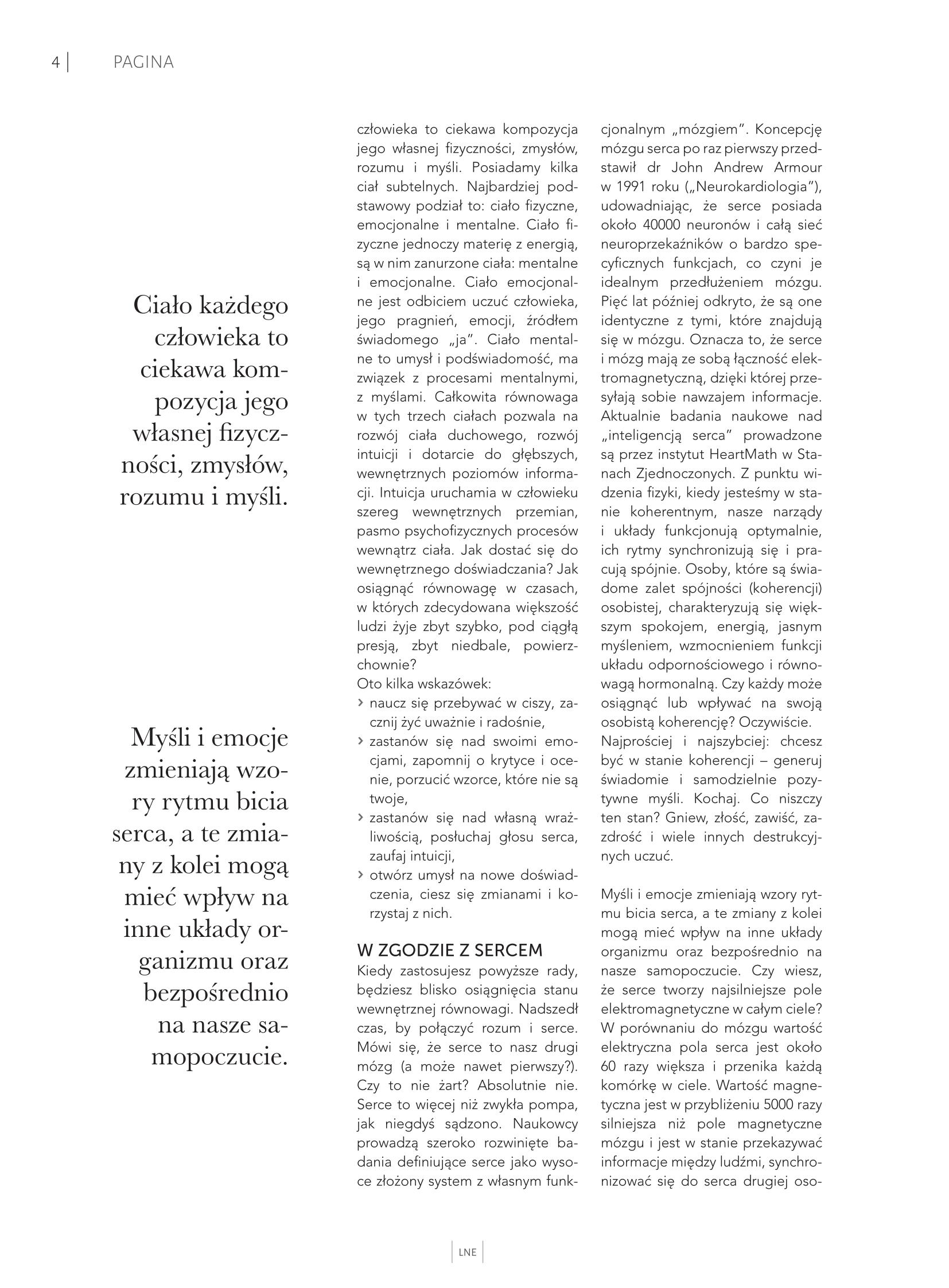 Artykuł w LNE