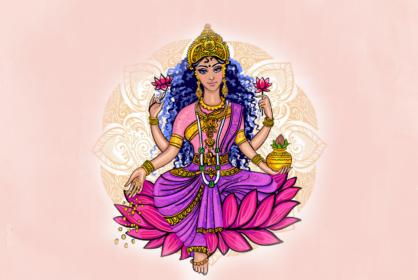 lakshmi hinduska bogini