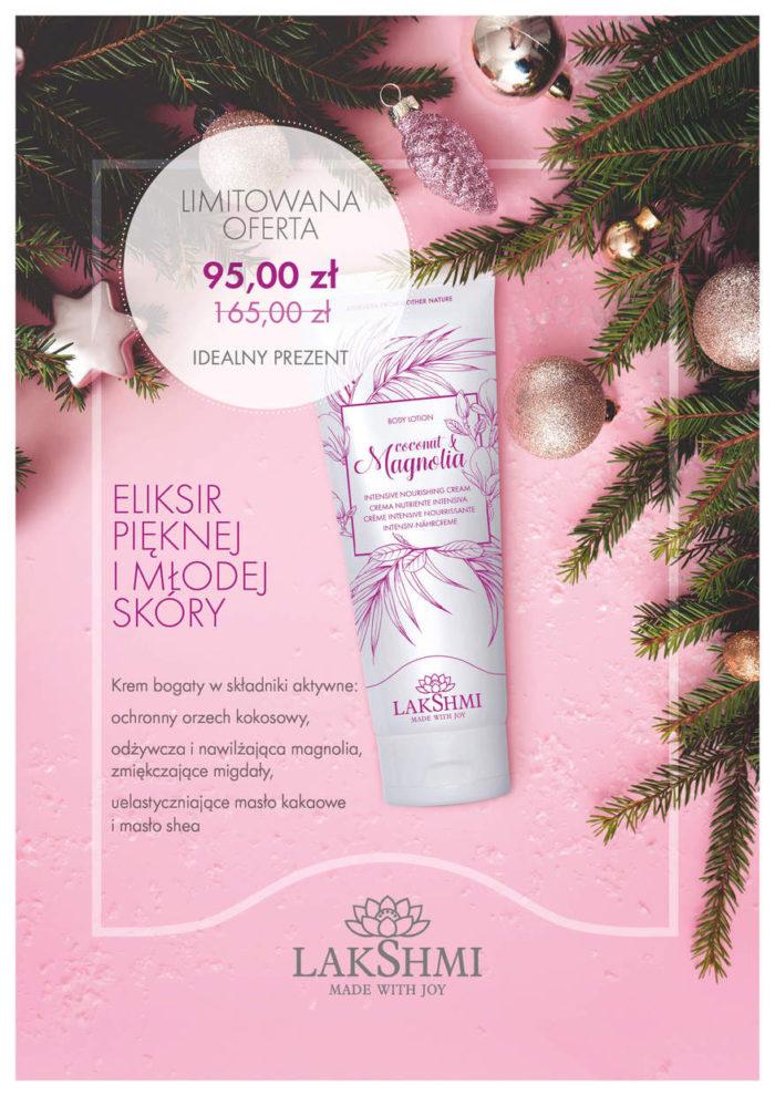 Zdjęcie produktu krem magnolia lakshmi