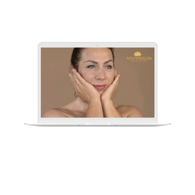 Videoszkolenie masaz twarzy