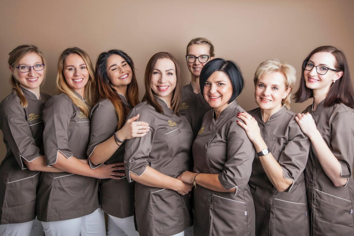 Urodziny Gabinetu ANNA NOCON Kosmetyka Pozytywna - zespol Gabinetu