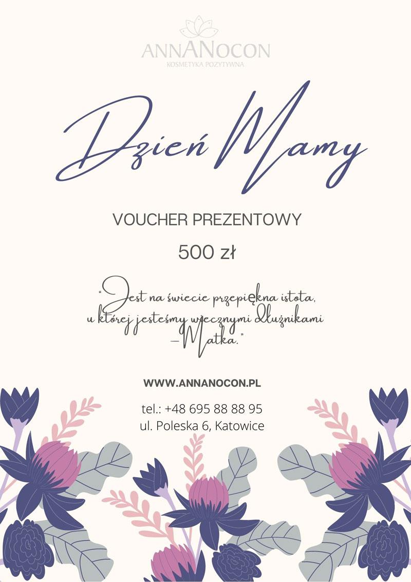 Voucher prezentowy na Dzień Matki - 500 zł