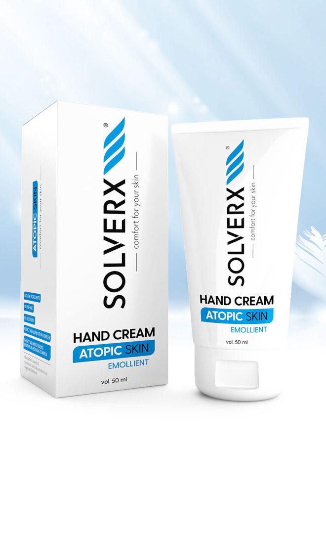 Atopic Skin Hand Cream Krem do rąk i paznokci do skóry atopowej