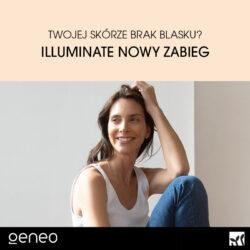 Dotleniający i rozjaśniający zabieg geneO™ Illuminate