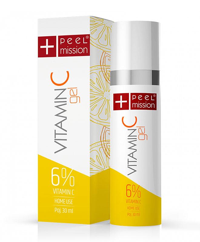 Vitamin C żel PEEL MISSION