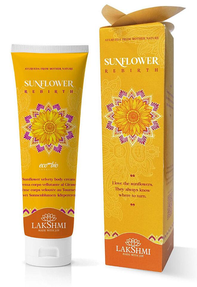 Aksamitny Krem z Kwiatem Słonecznika Lakshmi