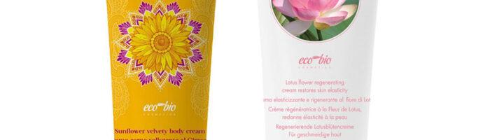 Zestaw Regenerujący krem do ciała z Kwiatem Lotosu i Aksamitny Krem z Kwiatem Słonecznika Lakshmi