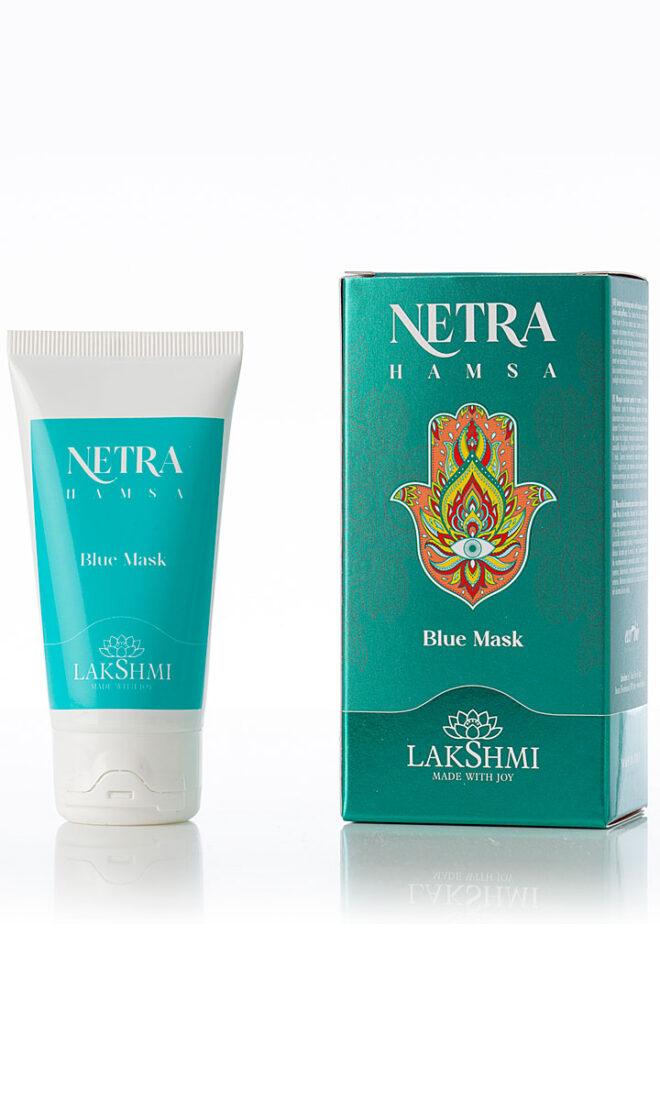 Lakshmi NETRA HAMSA Drenująca maska pod oczy z azulenem