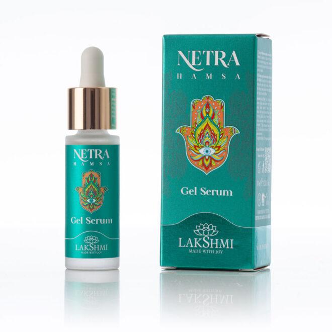 Żelowe tonizujące serum przeciwstarzeniowe Lakshmi NETRA